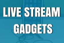 Live Stream Gadgets / This is a board for all the tools I use and recommend for live streaming.  I have spent many years using learning what the best tools are to make your live streams and iPhone pictures better and I will put them all here :)