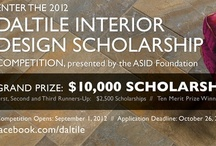 2012 Daltile Interior Design Scholarship Competition / To enter, visit Daltile's Facebook page http://www.facebook.com/daltile. All rules and restrictions apply.   / by Daltile