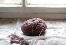 knit + crochet / by Cristina Rose