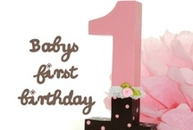 Baby´s first birthday party