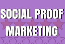 Social Proof Marketing / Social proof marketing is marketing your business with your reviews so you get more customers