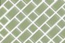 Tile Pattern Ideas / Tile pattern inspiration ideas from single tile sizes to multiple tile sizes.