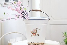 ♡ Enamel & jars / by lila