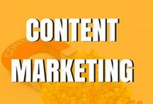 Content Marketing / Content marketing can generate tons of traffic to your business and we are going to give you tips and tricks on how to do content marketing quickly and easily with pins on this board :)