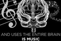 Educate- Music Benefits / Music is so good for us on so many levels. It is particularly good at stimulating many parts of the brain simultaneously, so it assists in developing higher order thinking skills.