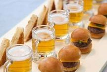 Canapés etc / Nibbles and food for drinks and celebrations.