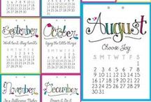 Digi- Calendars, Planners, etc / Free printables- calendars, diary pages, planners, etc. Most items are offered for free, for personal use only. See the original websites for Terms & Conditions.