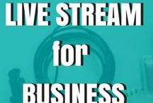 Live Stream for Business: How To Make Money with Live stream :) / Live Streaming is one of the most powerful ways for business's and brands to get their message to market.  On this board I am going to be showing you how to leverage live stream to get more customers, clients and patients.  :)