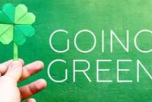 Going Green / Interior design using the color green