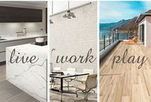 Spring 2016 New Products / From long-lasting kitchen backsplashes to breathtaking bathrooms, imagine a space that reflects who you are and how you live. The latest additions to our tile, stone, slab, and mosaic products give you the confidence to make your space as interesting and imaginative as you are.