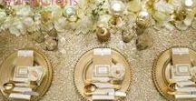 Black/Navy, Gold & Blush Pink Wedding / Wedding inspiration for black/navy gold and blush pink / soft coral wedding. #WeddingIdeas #WeddingDesign www.whitecrafts.com sister company www.brideboss.com #Glitter #sequin #Wedding
