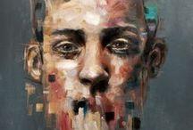 Art- Portraiture / People, portraits, caricatures.