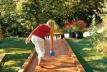 Garden Entertainment / Entertaining in the backyard- games to play, ideas for outdoor gatherings, features that will help an evening event.