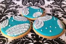 My Cookies / Vanilla sugar cookies  red M&Ms