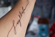 Tatts / by Stephanie Otte