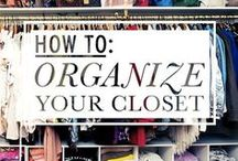 Organizing  / by Hannah Timmons