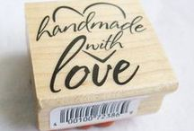Craft Rubber Stamps / DIY craft supplies