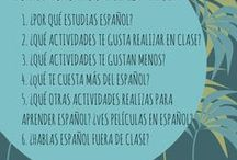 Spanish Classes: Daily Power Point Starters / by Gayle Thomas