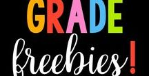 K-2 FREEBIES! / Lots of Freebies for Kindergarten, First, and Second Grades from Mrs. Gilchrist's Class