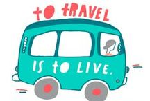 Artist Lisa Congdon + Her Travel Inspiration / Meet illustrator + artist Lisa Congdon who drew up some of our favorite quotes on travel and belonging. / by Airbnb
