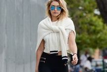 """Street Style Inspiration: Gigi Hadid / Sporty, spontaneous, and snazzy trendsetter Gigi Hadid, has taken the spot as being the fashion industry's newest """"it girl"""". I look up to her for fashion advice and inspiration whilst leaning towards the sportier side. This is a collection of my favorite street style looks from her."""