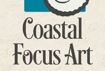 COASTAL FOCUS BLOG / The journal of an artist and business owner. Artistpreneur. Witness the mundane and magnificent life of someone trying to turn their art into a career. Funny, witty, emotional, educational.