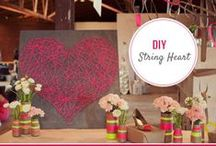Girls Night DIY Craft Projects / Hosting a Girls Night or Ladies Night? Here are a great set of inexpensive DIY Craft Projects for your group.
