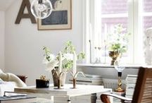 LIGHT SCANDI INTERIORS / Inspiration for light scandi interiors. Think: white walls, lots of grey, mid-century furniture, classic design and vintage touches