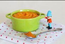 Les petits pots dans les grands ! / Retrouvez des idées de recettes de bons petits plats à cuisiner pour bébé, ainsi que des conseils sur la diversification alimentaire.
