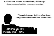 Hudson Valley Public Realtions / reputation  / by Hudson Valley Public Relations