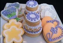 Lavender, Peach & Honey Bridal Shower: Inspiration Challenge 6 / What cookies would you make for a bridal shower based on these soft, rich colors and images? / by Cake Central