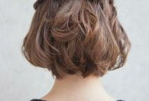 SHORT HAIR STYLES / Ideas and styles for short hair and bobs