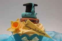 Graduation Party Inspiration Challenge / What kind of cupcakes would you make to go with this party theme? / by Cake Central