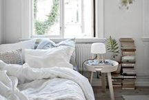 BEAUTIFUL BEDROOM IDEAS / Create a calm sanctuary and escape the world with beautiful bedroom ideas. Sleep better and dream away with minimal interiors, soft French linen and breakfast in bed