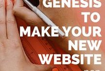 Genesis Framework / The #Genesis Framework empowers you to quickly and easily build incredible websites with WordPress.