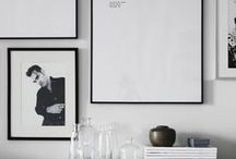 GALLERY WALL IDEAS / Create a feature gallery wall with lots of perfectly curated posters and art prints