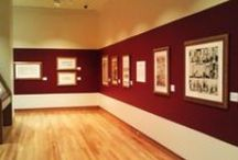 """Pics from the Billy Ireland Exhibit, """"Substance and Shadow: the Art of the Cartoon"""""""