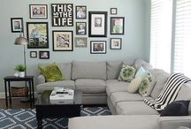 Living room/ family room / by Jessica Cundiff