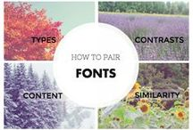 Typography / There is a lot of buzz these days regarding web design and custom fonts, and probably you've seen some typography that you'd love to use. Some of these are paid fonts.  In walks free Google Web Fonts – and all of your miseries go away.