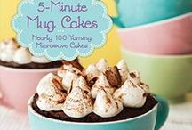 Mug Cakes / Sharing my own and other mug cake recipes. Easy, single serving cakes made in the microwave and ready in just a few minutes! / by Kirbie {Kirbie's Cravings}