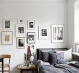 I WISH I LIVED HERE / I wish I lived here: beautiful minimal Scandi homes, full of light, mid-century designer furniture and grey walls