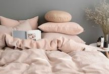 SOFT PINK / The softest shade of pink right on trend, soft pink walls, dusky shades and delicate home accessories