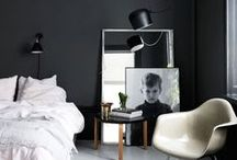 DARK WALLS / How to create the moody dark wall trend for a bold look