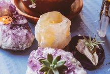 Crystals & Stones ☼♁☾∆ / Crystal Healing, Gem Stones, Chakra Balancing, Free your Wild, Untamed Energy