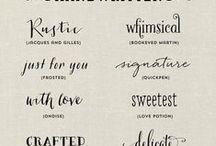 Design - Fonts