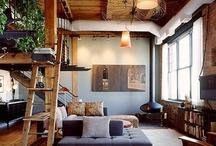 cozy interiors / by Lauren Scott