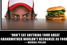 Food Philosophy / Mottos and knowledge for healthy eating and healthy living