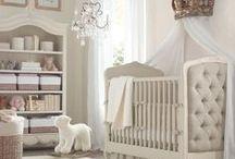 Baby Nursery Decor Ideas / Baby nurseries: nursery decor, nursery DIY, nursery furniture, nursery wall decor, nursery ideas