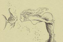 - Mermaids, Nymphs & Sirens -