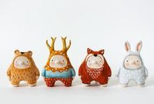 paperMACHE/clay / by MA